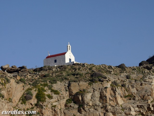 Click to download the Mykonos, a Red-Roofed Chapel