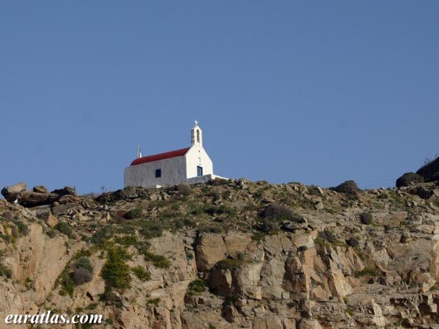 Cliquez ici pour télécharger Mykonos, a Red-Roofed Chapel