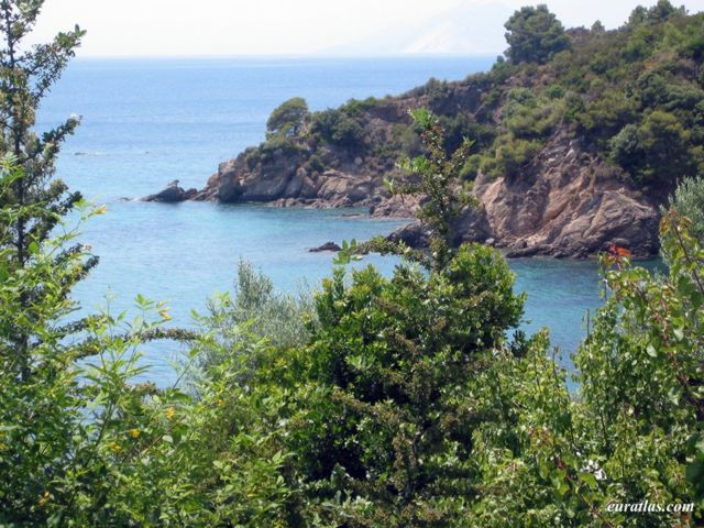 Click to download the A small Cove at Skiathos Island