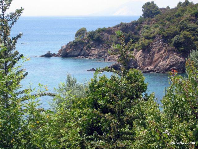 Cliquez ici pour télécharger A small Cove at Skiathos Island