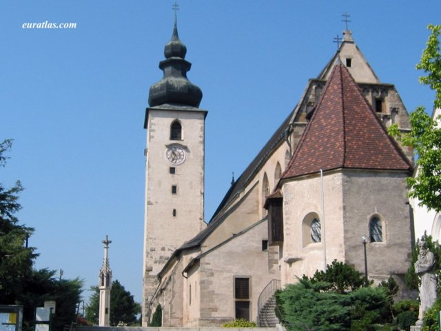 Click to download the Enns, the Church on the Location of the Antique Lauriacum