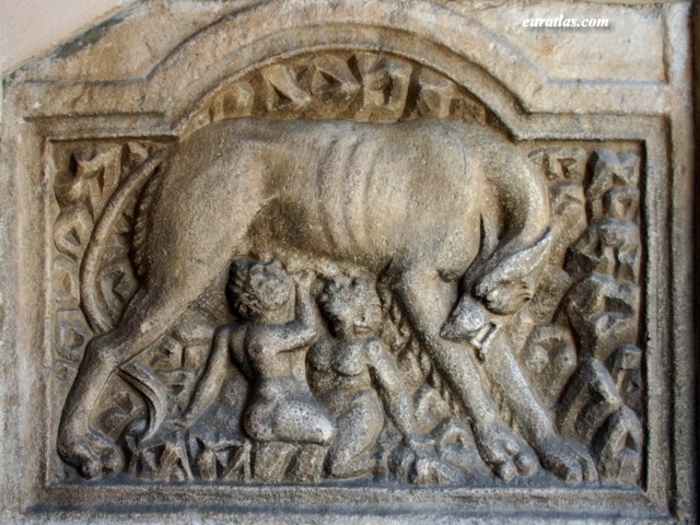 Click to download the The Capitoline Wolf in the Church of Maria Saal