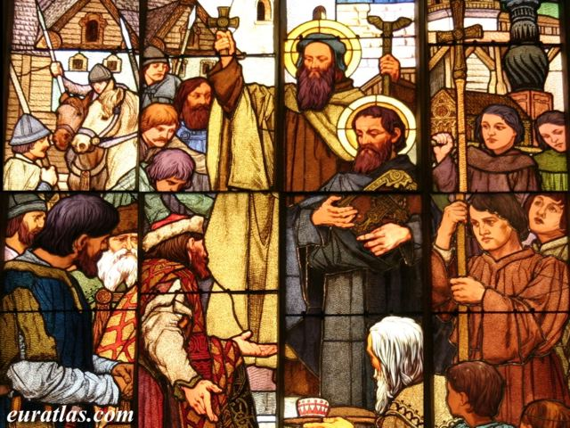 Click to download the Cyril and Methodius Preaching in Bohemia