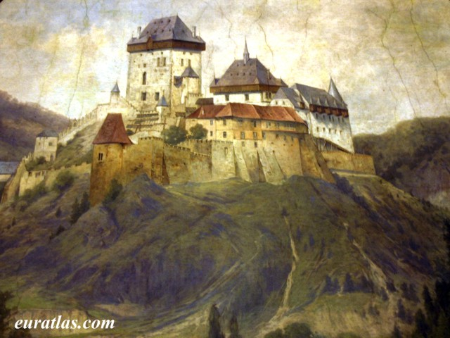 Click to download the The Castle of Karlstejn
