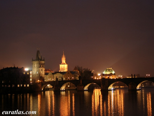 Click to download the Prague, Charles Bridge by Night