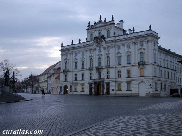 Click to download the The Archbishop Palace, Prague Castle