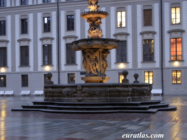 Click to download the The Fountain by Hieronymus Kohl, Prague Castle