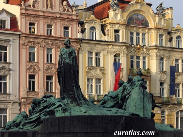 Click to download the The Monument of Jan Hus at the Prague Old Town Square