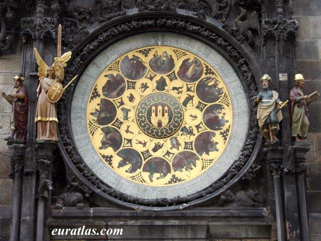 Click to download the Prague Astronomical Clock: the Calendar