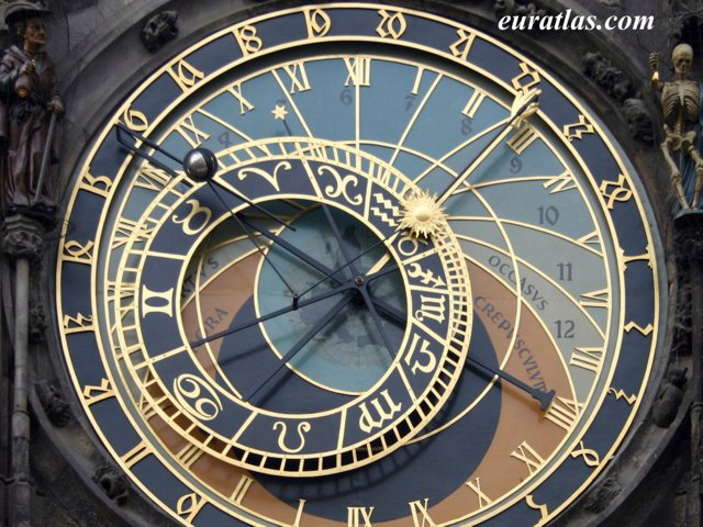 Click to download the Prague Clock: the Astronomical Dial