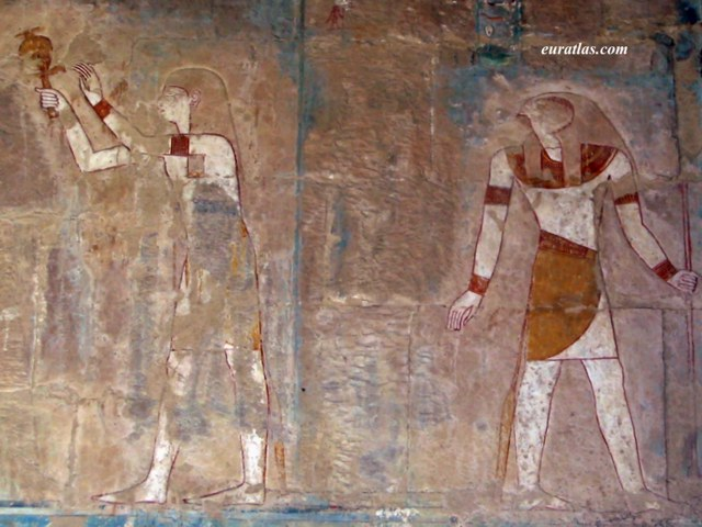 Click to download the Hatshepsut and Horus, Deir el-Bahri