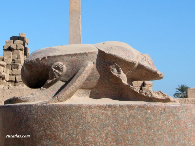 Click to download the Khepri, the Giant Beetle of The Sacred Lake in Karnak