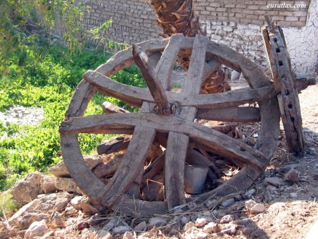 Click to download the An Old Water Wheel in Thebes West Bank