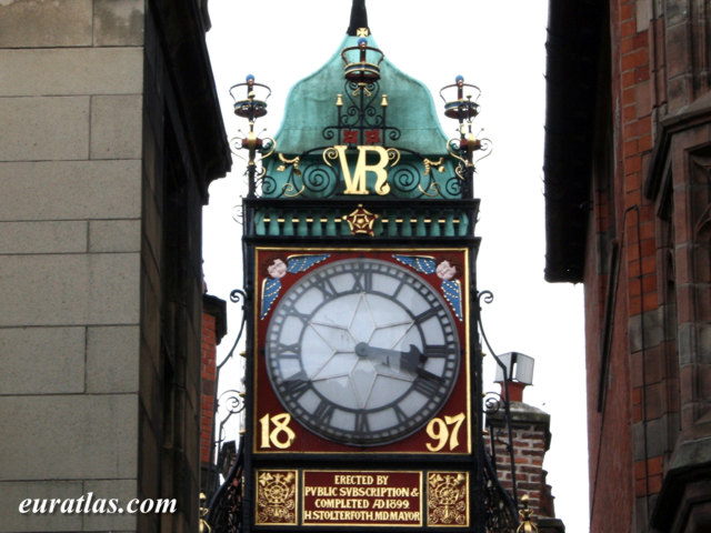 Click to download the Eastgate Clock, Chester