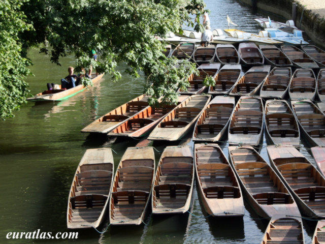 Click to download the Boats on the River Cherwell, Oxford