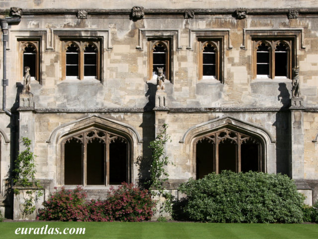 Click to download the Magdalen College, the Cloister, Oxford