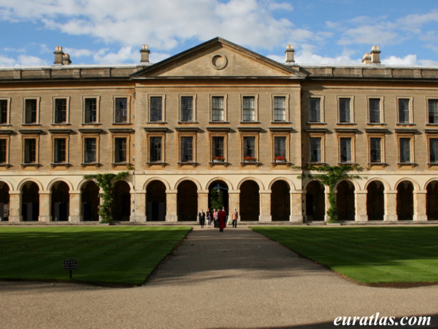 Click to download the Magdalen College, the New Building, Oxford