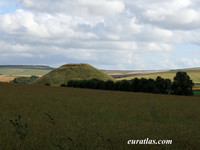 Click to download the Silbury Hill, about 2750 B. C.