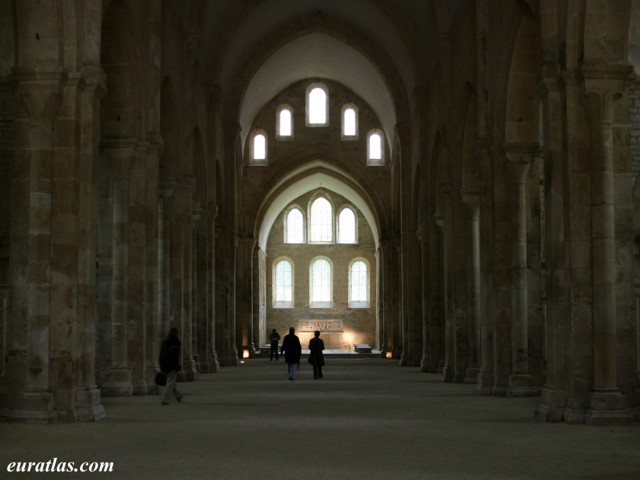 Click to download the Abbey of Fontenay, the Church