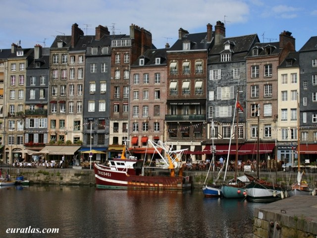 Click to download the Honfleur, the Old Dock