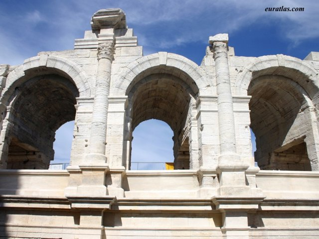 Click to download the The Roman Amphitheater of Arles
