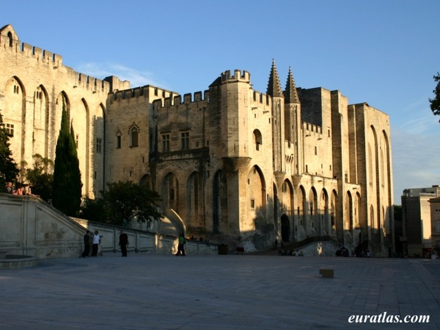 Click to download the The Palais des Papes in Avignon