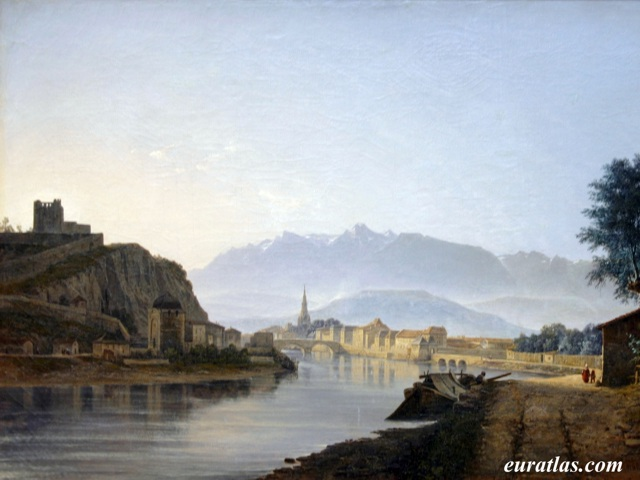 Click to download the Grenoble by Jean Achard, 1837