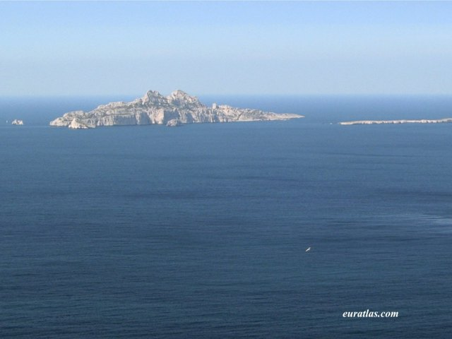 Click to download the The Island of Riou from the Calanques