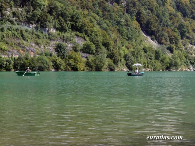 Click to download the The Lake of Aiguebelette, Savoy