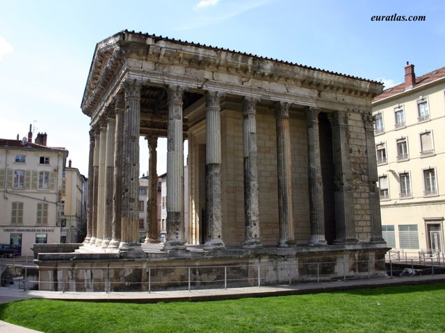 Click to download the The Temple of Augustus and Livia in Vienne