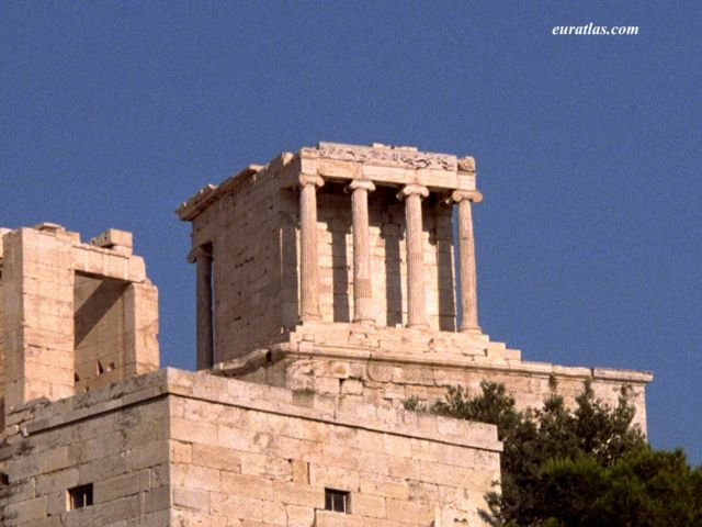 Click to download the The Athena Nike or Victory Temple in Athens