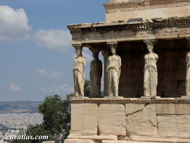 Click to download the The Caryatid Porch on the Acropolis of Athens