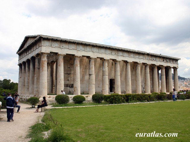 Click to download the The Temple of Hephaestus or Theseion in Athens