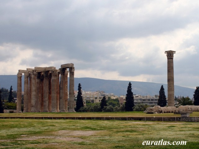 Click to download the Temple of Olympian Zeus, Athens