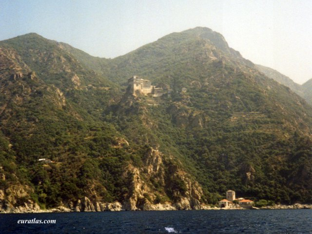 Click to download the Monastery of Simonos Petra, Mount Athos
