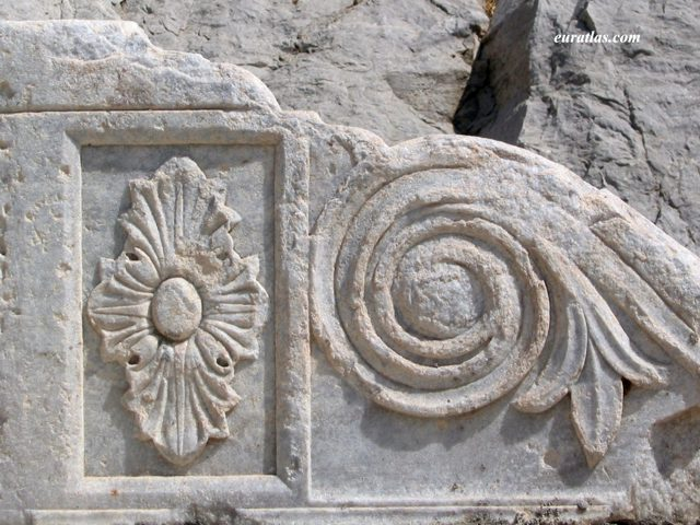 Click to download the A Piece of Classical Frieze in Marble
