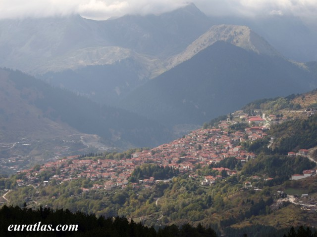 Click to download the Metsovo or Aminciu in the Pindus Mountains