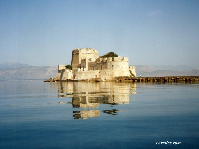Click to download the The Bourtzi, a Venetian Castle, in Nafplion
