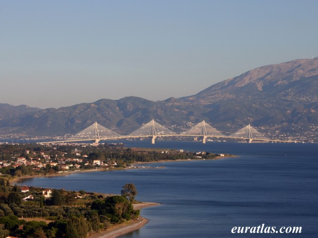 Click to download the The Rio-Antirio Bridge Between Peloponnesus and Mainland