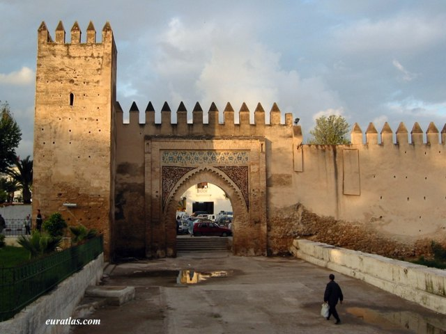 Click to download the A Gate of the Medina of Fes-el-Bali