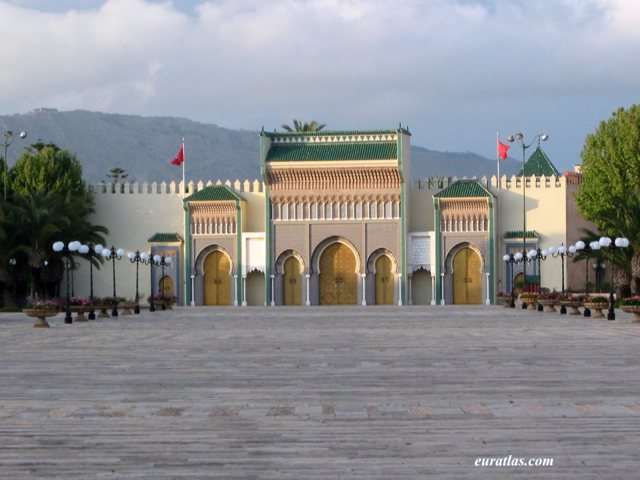 Click to download the The Royal Palace of Fes