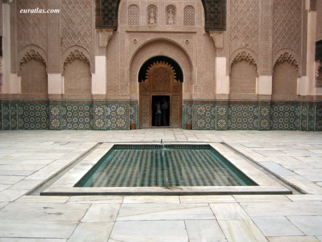 Click to download the Another View of the Medersa Ben Youssef in Marrakech