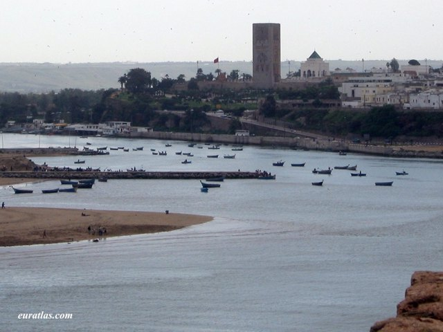 Click to download the The Wadi Bou Regreg and the Hassan Tower in Rabat