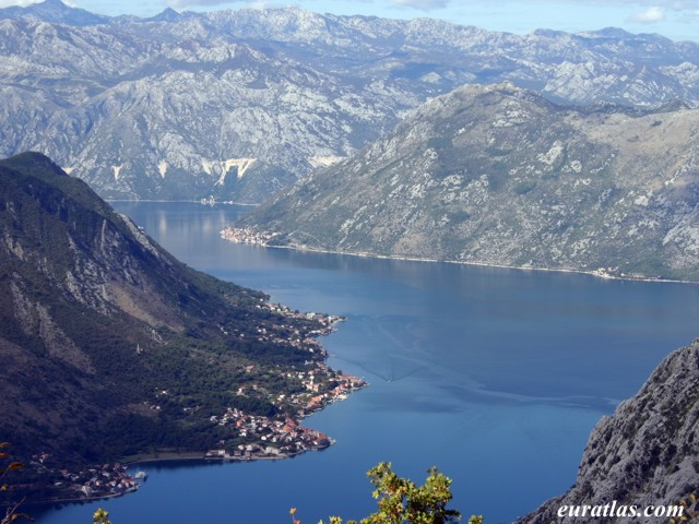 Click to download the The Bay of Kotor from the Mountain