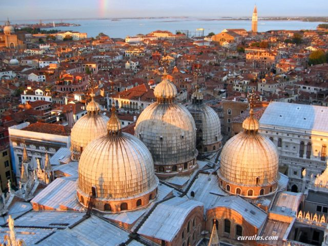 Click to download the Venice, the Domes of St Mark's Basilica