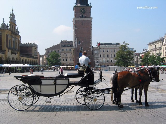 Click to download the A Calash on the Main Market of Krakow