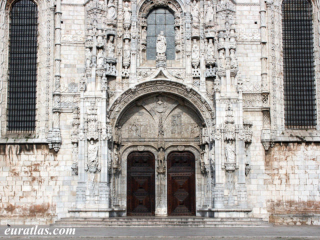 Click to download the South Portal of the Jeronimos Monastery, Belém