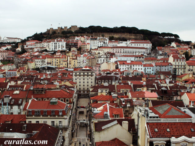 Click to download the The Castle of São Jorge, Lisbon