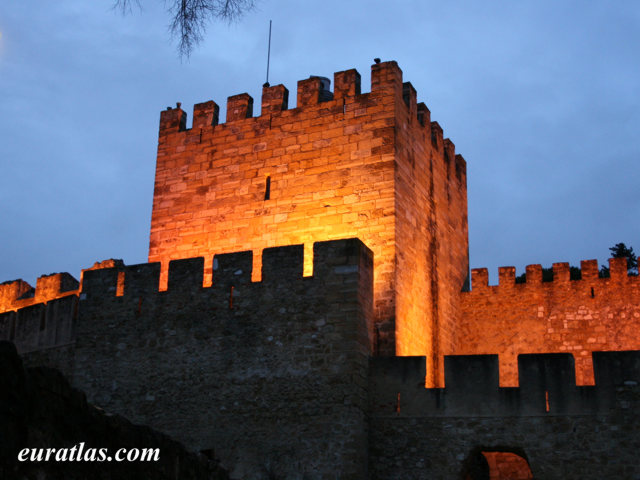Click to download the The Castle of São Jorge by Night