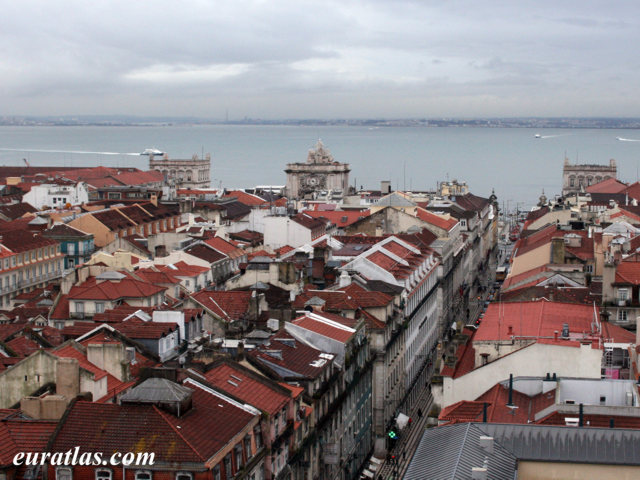Click to download the The Roofs of Lisbon with the Arco da Rua Augusta